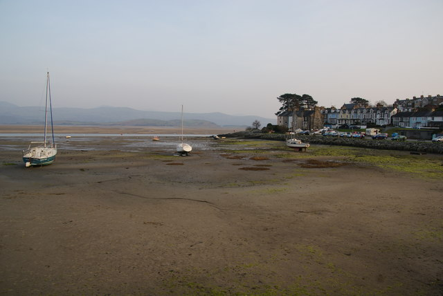The bay at Borth-y-Gest