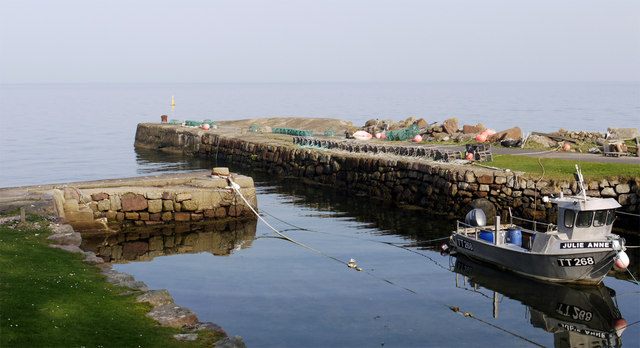 Harbour at Corrie