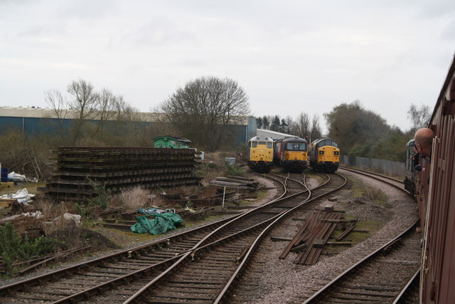 Railway Yard near Dereham Station