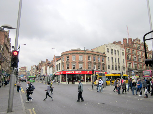 Nottingham, Parliament, Milton Street Junction