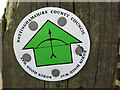 SK5041 : Robin Hood Way Logo by Chris Heaton