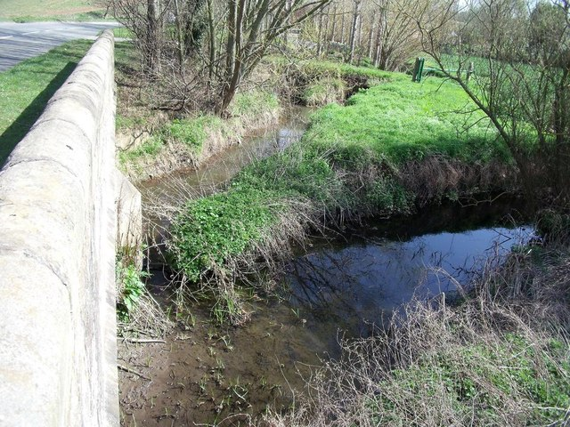 Carr Brook meets Ramsley Brook at New Bridge