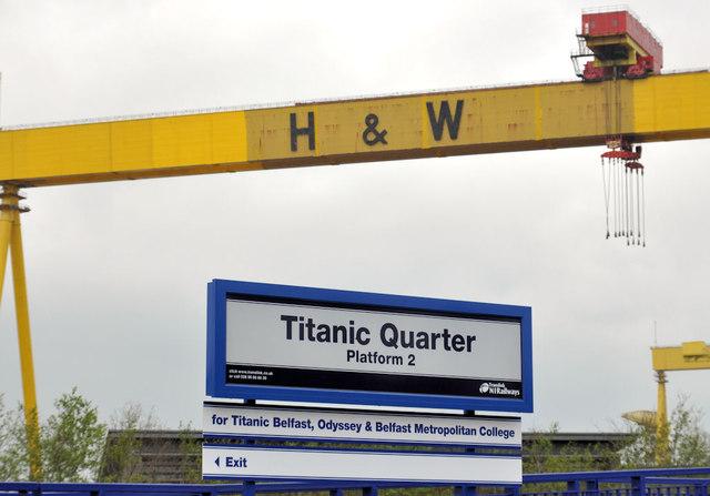Titanic Quarter station, Belfast (1)