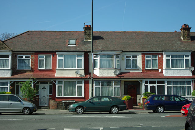 Houses on Streatham Road