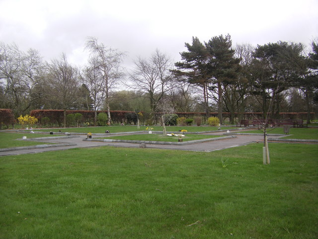 Garden of Remembrance, Lytham Park Crematorium