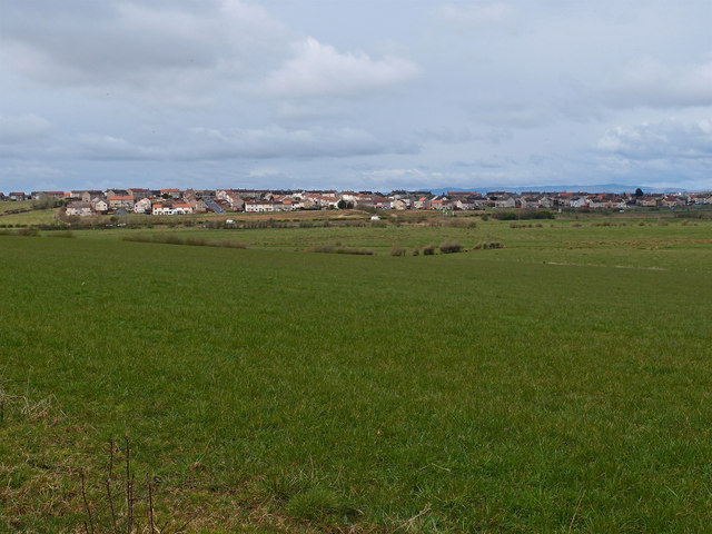 Looking towards Bellfield, Kilmarnock