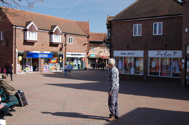 The Grove Shopping Centre, Witham