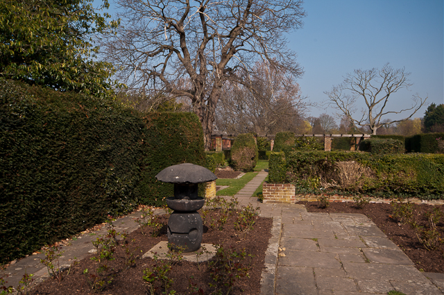 Formal garden, Priory Gardens