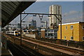 TQ3580 : Shadwell DLR station: view towards the City by Christopher Hilton