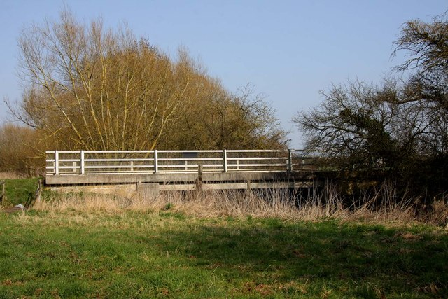 Ock Bridge from the meadow