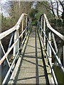 TL9633 : Footbridge by Keith Evans