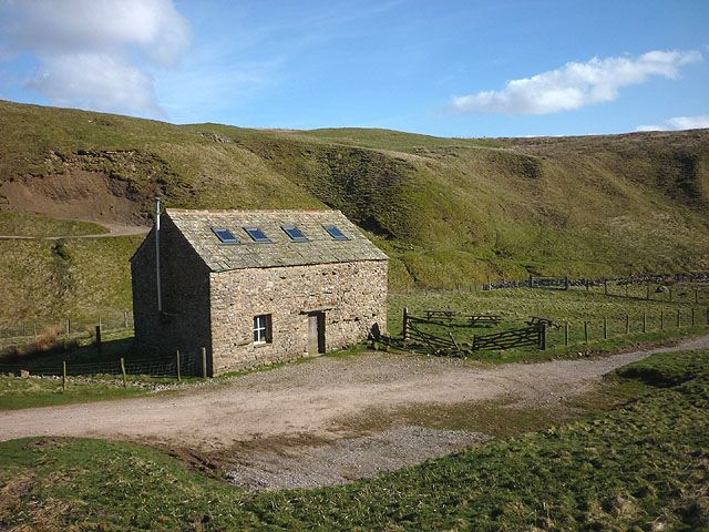 Converted barn by Swindale Beck