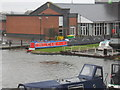 SJ4077 : Working Narrow Boat Hadar moored in lower basin, Ellesmere Port by Keith Lodge