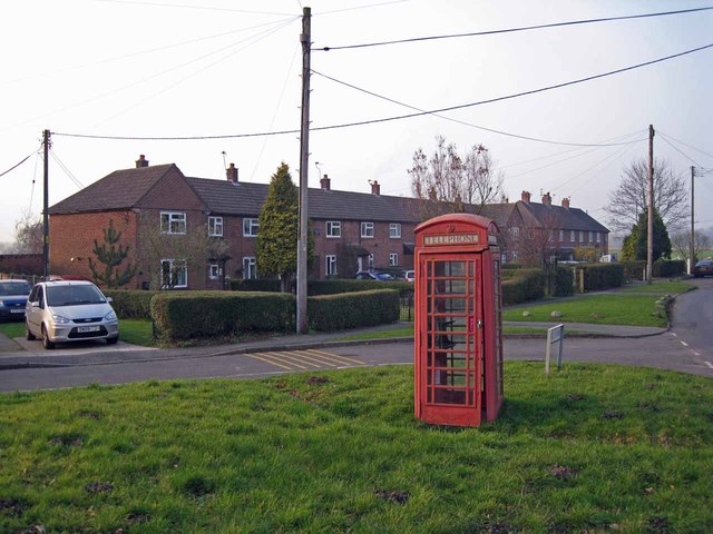 Phone box and housing, Newsbank