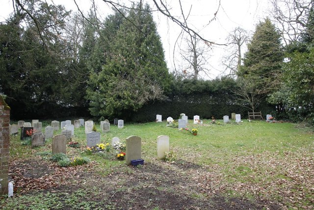 The new churchyard