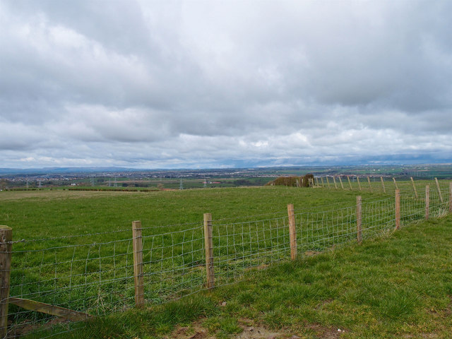 Wire Fence near Mosside farm