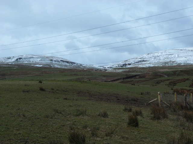 Campsie Fells from near Drumtocher