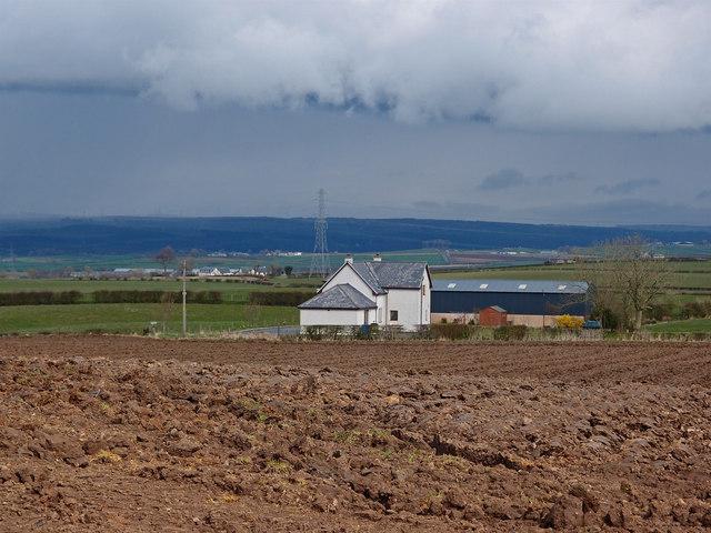 Ploughed Field near Brookbank