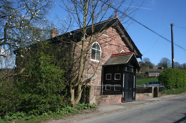 Former Methodist Chapel, Burwardsley