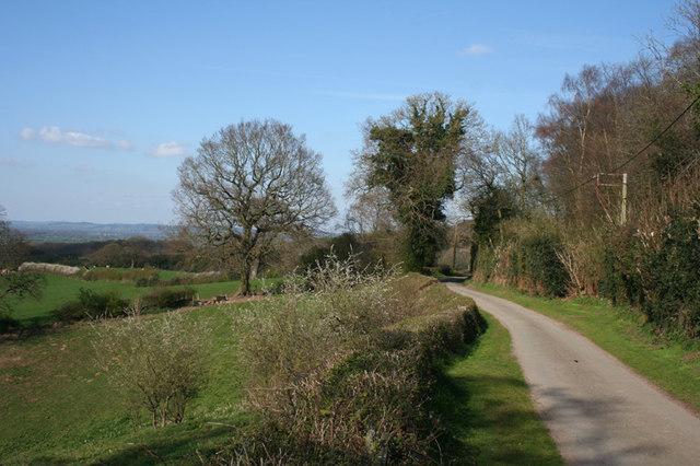 Barracks Lane, Burwardsley