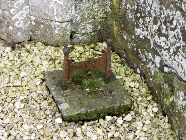 Boot Scraper, St Disen's Church