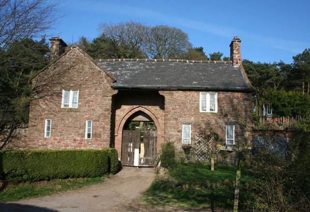 Gatehouse on the Peckforton Estate