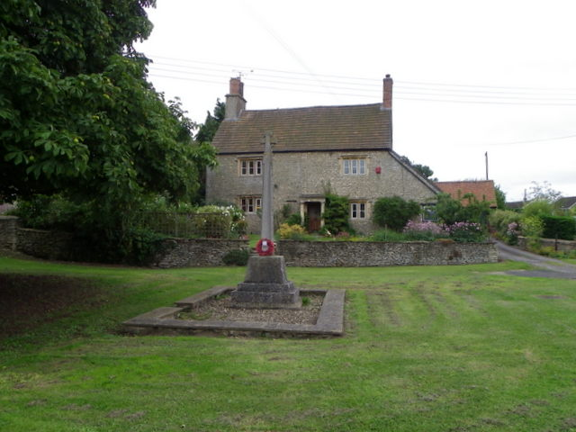 War Memorial, Corston
