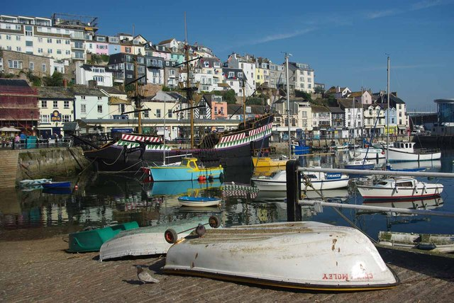 Brixham Harbour Slipway