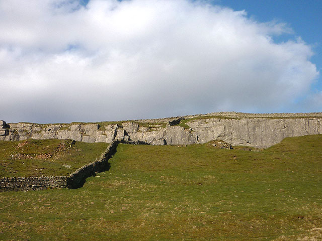 The central part of Windmore End Quarry