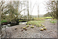 SD3893 : Footbridge at Ling Holme, Windermere by Peter Church
