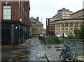 SK3587 : West Street Lane towards City Hall, Sheffield by Andrew Hill