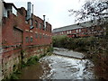 SK3586 : River Sheaf from Duchess Road, Sheffield by Andrew Hill