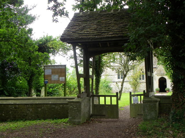 Lych gate, Rodbourne