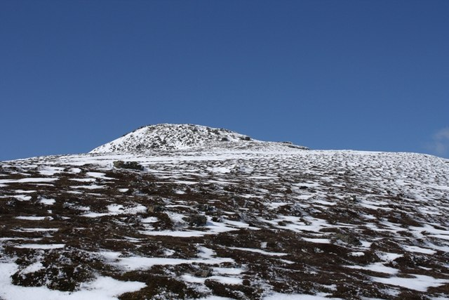Main summit of Morven from south east