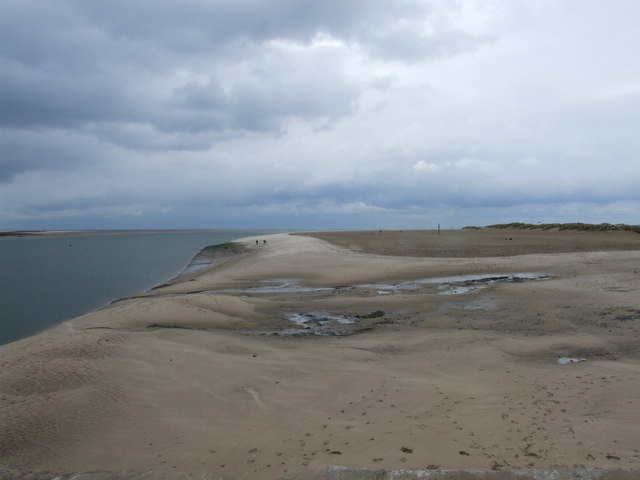 The sands at Aberdyfi