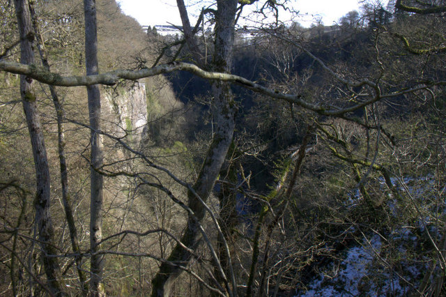 Craighall Gorge, Glenericht