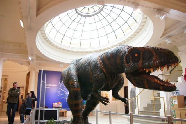 Dinosaur in the Perth Museum and Art Gallery