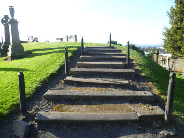 Steps on Somerset's Mound