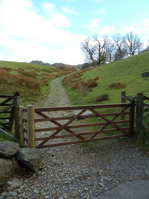 Footpath to Thornhow End