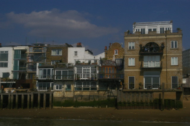 Riverfront houses, Limehouse