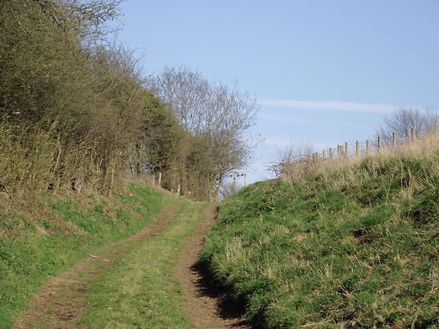 Farm track  south-east of Worfield, Shropshire