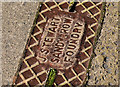 C8432 : Stewart's drain cover, Coleraine by Albert Bridge