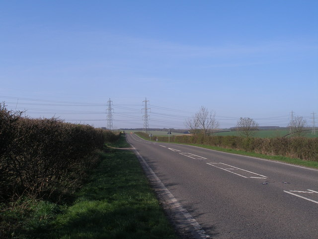 Road west of Barrow Wold