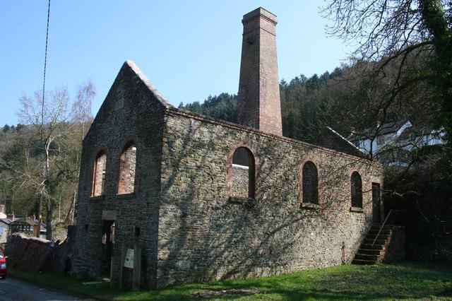 Compressor House, Snailbeach Lead Mine