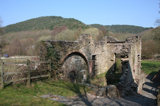 Crusher House, Snailbeach Lead Mine