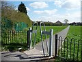 SE3027 : Footpath across Middleton playing fields by Christine Johnstone