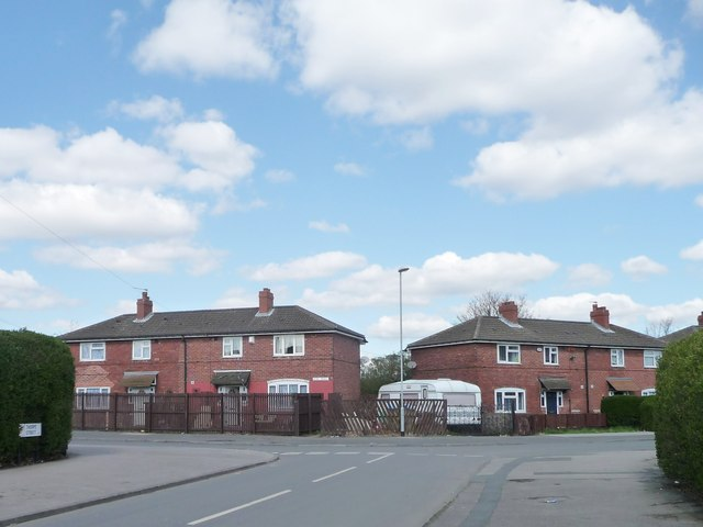 Houses on Acre Road, Middleton