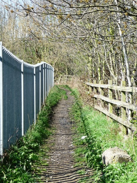 Public footpath to Middleton