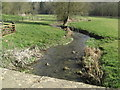 SP0513 : River Coln at Chedworth by Stuart Logan