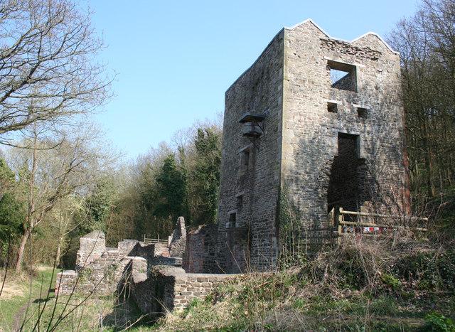 Engine House, Snailbeach Lead Mine